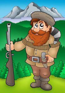 La conquête de l'Ouest dans C'est absurde trappeur-de-dessin-anime-avec-des-montagnes-12010510-208x300