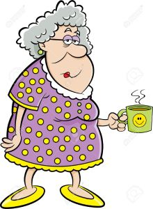 Madame Dupont dans Vive la retraite 49801904-cartoon-illustration-of-an-old-lady-holding-a-coffee-mug-stock-photo-220x300